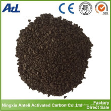 Pellet coal activated carbon adsorption of benzene