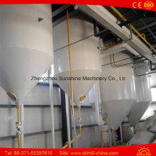 Equipamento de Refinaria de Petróleo Pequena Máquina de refinação de óleo de palma cru 3ton