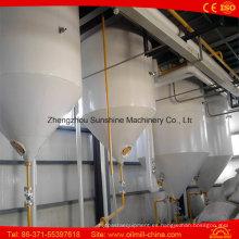 Máquina de refinación de aceite de semillas de algodón 30t / D