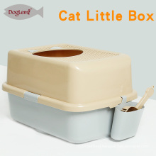 High quality Top Entry Cat Kitten Pan Cat Litter Box breathable cat box