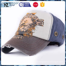 Fashion baseball cap with customied logo made in china