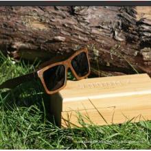 Half Frame Bamboo Wooden Sunglasses