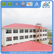 Top selling certificated steel structure prefab hotel bilding