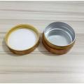 Kosmetisches Bambuscremetiegel mit Aluminium Lnner