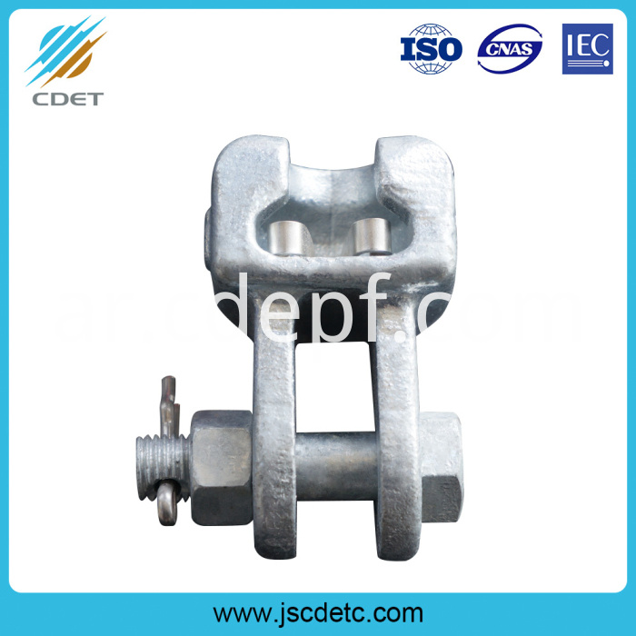 Steel socket clevis