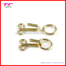 Whosales Shiny Gold Trousers Hook and Eye