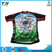 2015 Wholesale China Manufacture Custom Cycling Jersey Manufacturer