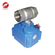 La válvula de control de temperatura eléctrica de flujo de agua automática más duradera