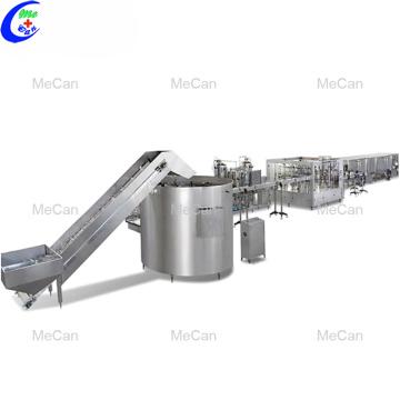 Automatic Filling PET Plastic Bottle Water Machine