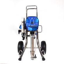 airless paint sprayer between coats long piston pump