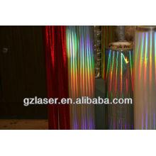 Hologramm hitzereflektierende Kunststofffolie