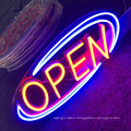 Wholesale outdoor sign led open neon logo  custom led neon logo sign store restaurant display