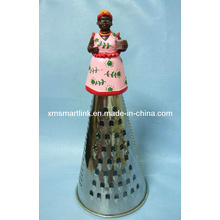 Poly Resin Woman Handle Kitchen Grater