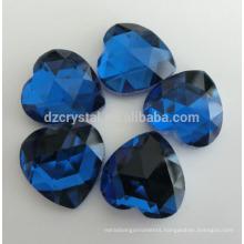 Flat Back Heart Shape Fancy Stones