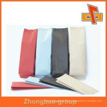 Venta al por mayor de material de papel y flexografía de impresión de superficie de papel kraft bolsas de papel