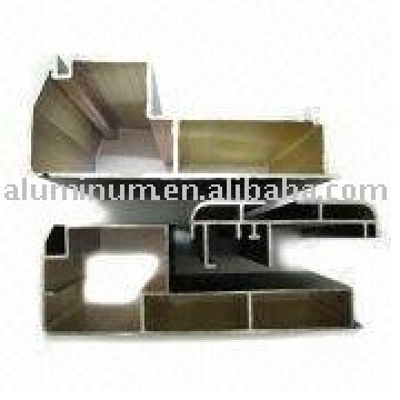 Perfil de aluminio para caja publicitaria