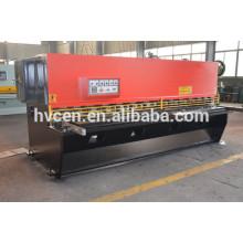 QC12Y-8x3200 cizalla hidráulica máquina / cizalla