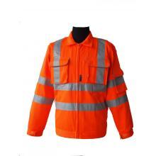 Chaqueta de seguridad de trabajo de alta visibilidad
