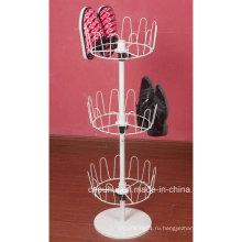 Напольная стойка для круглой обуви (LJ2006)
