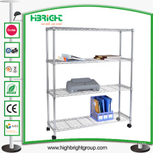 Light Duty Chrome Plated Wire Storage Display Racks