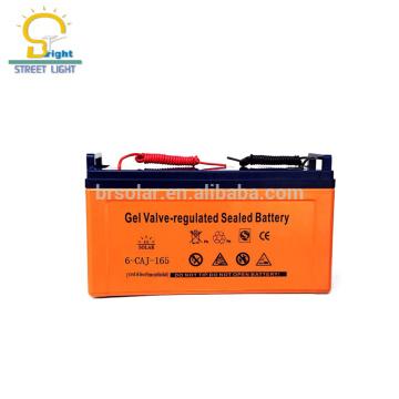 Bateria de lítio solar de venda quente da luz de rua 200AH