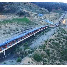 Ske High-Tech Long-Distance Curved Belt Conveyors for Sale