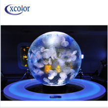 Display a LED a scorrimento a sfera con sfera luminosa a LED