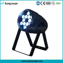 Lâmpada brilhante super da fase do diodo emissor de luz de 12X10W PAR para o estágio do disco