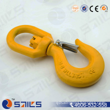Alloy Steel Lifting Chain Hook with Safety Latch