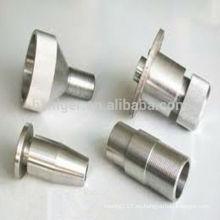 piezas de la fresadora cnc de aluminio / piezas de la máquina de fresado vertical / piezas de la máquina de fresado cnc