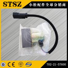 Komatsu PC400-7 электромагнитный клапан гидравлического насоса 702-21-57600