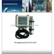 Dispositivo de pesada elevador, dispositivo de sobrecarga de elevación, dispositivo de pesaje de elevación ECW-L200 +
