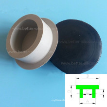 Tamaño clasificado personalizado Tapón de drenaje del fregadero de goma de silicona