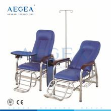 AG-TC001B mit verstellbarem medizinischem Infusionsstuhl des PVC-Lederpatientenbehandlungskrankenhauses