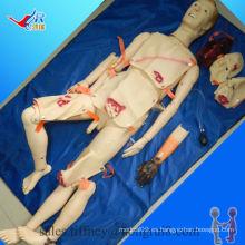 Trauma avanzado y maniquí de enfermería de ISO