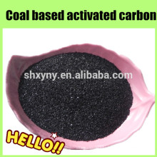 Bituminous granular coal based activated carbon for solvent recovery