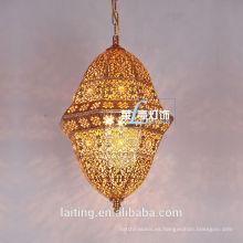 Lámparas de araña de cristal árabe Latern marroquí 031