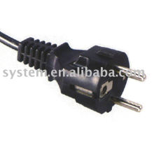 european power cord with vde