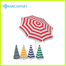 Fashion Custom Brand Stripe Printed Beach Umbrella