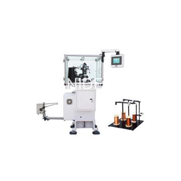 Machine d'enroulement d'aiguille de bobine de stator à moteur de trempage