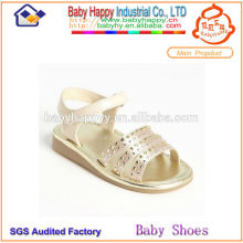 crystal high heel shoes for children sandals