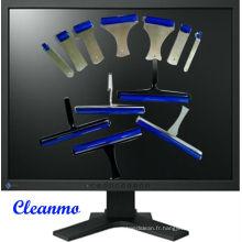 Rouleau de silicium pour le nettoyage d'affichage à cristaux liquides