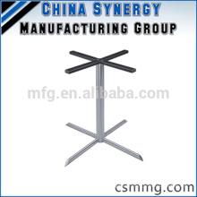 Stahltischständer, Metallbein, Tischbein, Tischbein, Stahlbein, Paar Beine,