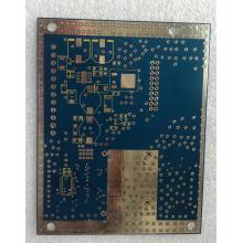 Factory source manufacturing for Prototype PCB 2 layer 1.6mm Blue PCB HAL supply to India Supplier