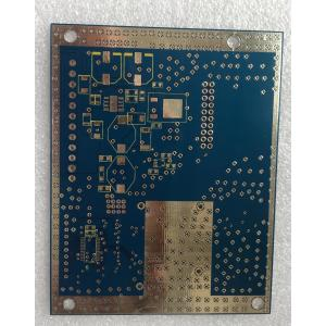 2 layer 1.6mm Blue PCB HAL