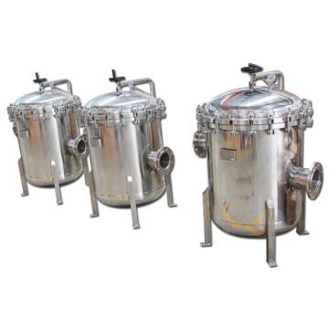 Mirror-Polish 5 Micron Stainless Steel Bag Filter Housing