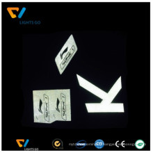 2016 Китай дунгуань светоотражающая пленка / лазер ТПУ пленка для логотипа Nike
