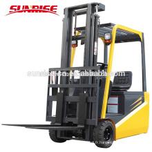 Chariot élévateur électrique de haute qualité de la tonne 1.5 tonne à quatre roues