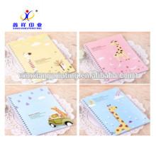Cuaderno de papel al por mayor colorido de alta calidad de China xinxiang, 48sheets los 14.8cm * 21cm