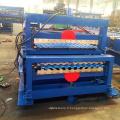 double feuille de toiture ondulée faisant la machine